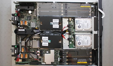hp blade server data recovery