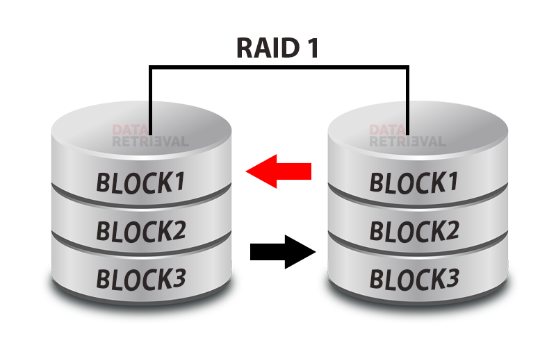 RAID 1 Data Recovery