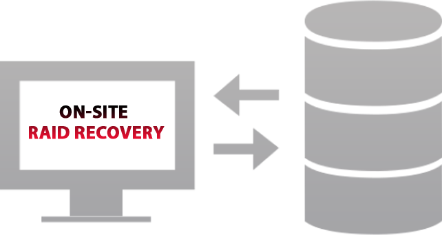 On-Site RAID Data Recovery